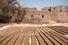 Free Historic Adobe Houses In Oman Royalty Free Stock Image - 34410336