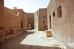Historic Adobe Houses in Oman Royalty Free Stock Image