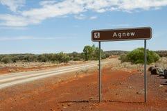 Historic Agnew Town - Australia. Historic Agnew Town in Australia royalty free stock photo