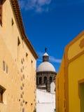 Historic Aguimes Town Gran Canaria Spain Stock Photo