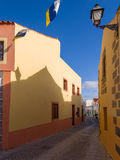 Historic Aguimes Town Gran Canaria Spain stock image