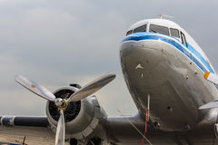 Historic airliner Royalty Free Stock Image
