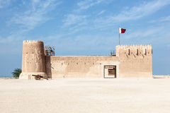 Historic Al Zubara fort in Qatar Royalty Free Stock Photo