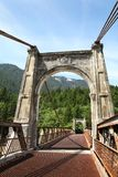 Historic Alexandra Bridge, Fraser Canyon, British Stock Images