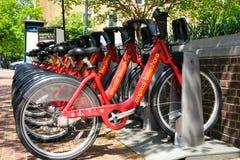 Historic Alexandria, Virginia by bicycle Stock Photo