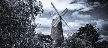 Callington Mill, Oatlands, Tasmania, Australia Royalty Free Stock Photo