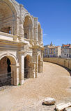 At the historic amphitheater in arles Royalty Free Stock Image