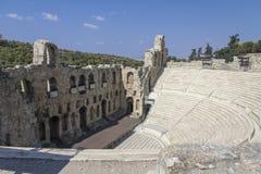 Historic amphitheatre around the Acropolis, Athens Royalty Free Stock Photo