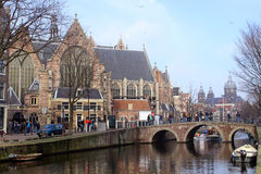 Historic Amsterdam Stock Photography