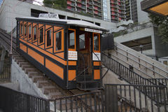 Historic Angels Flight Railway in Los Angeles Stock Images