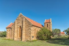 Historic Anglican Church in Westminster in the Free State Provin. WESTMINSTER, SOUTH AFRICA - MARCH 12, 2018: The historic Anglican Church in Westminster, a Stock Image