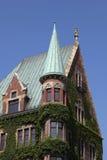 Historic apartment house in Hamburg Stock Photo