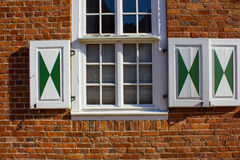 Window with Shutter Royalty Free Stock Photography