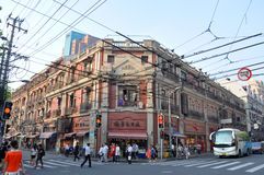 Historic Apartment in Shanghai, China Stock Photo