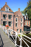 Historic Appingedam in the Province Friesland, The Netherlands Royalty Free Stock Photos