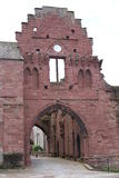 The historic Arbroath Abbey in Scotland, Great Britain. The historic Arbroath Abbey in Scotland, majestic estate, Great Britain Stock Photos