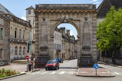 Beaune in the Burgundy region of eastern France Stock Photo