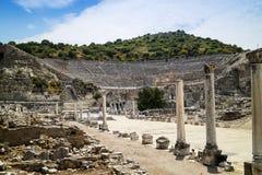 Historic archaeological site of Ephesus in Turkey. Stock Photo
