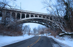 Historic arched bridge Stock Photos