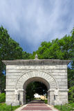 Historic Arched Entry to Camp Randall Stadium Royalty Free Stock Image