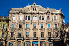 Historic Architecture in Budapest Royalty Free Stock Photos