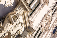 Historic Architecture in Budapest. Hungary, Europe stock photo