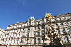 Historic Architecture in the center of Vienna Stock Photo