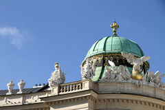 Historic Architecture in the center of Vienna Royalty Free Stock Images