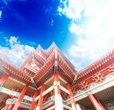 Historic Architecture of China Royalty Free Stock Photo