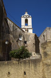 Historic architecture in city Calvi on island Corsica,France Royalty Free Stock Photo