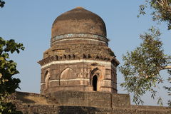 Historic architecture, dai ki choti bahan ka mahal. The monument is the tomb of the nurses younger  sister. upper class of society in ancient india had a very Royalty Free Stock Images