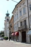Gorizia, Italy. Historic architecture of Gorizia, Italy Stock Photos