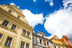 Historic Architecture in Krumlov Royalty Free Stock Image