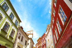 Historic Architecture in Krumlov Royalty Free Stock Photos
