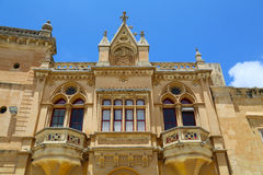 Historic Architecture in Mdina Royalty Free Stock Photos