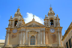 Historic Architecture in Mdina Royalty Free Stock Images