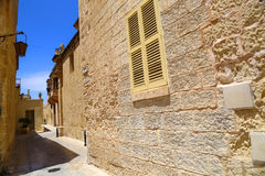 Historic Architecture in Mdina Royalty Free Stock Image