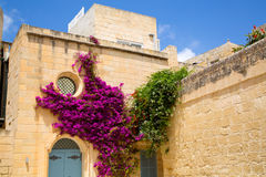 Historic Architecture in Mdina Stock Photography