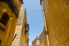 Historic Architecture in Mdina Royalty Free Stock Photography