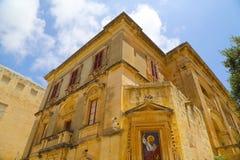 Historic Architecture in Mdina Stock Image