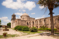 Free Historic Architecture Mission San Jose San Antonio Texas Stock Photography - 56807472