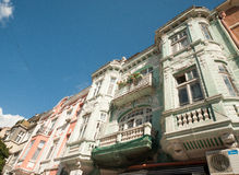 Historic architecture of old Varna Royalty Free Stock Photo