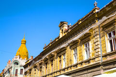 Historic Architecture in Oradea Stock Image