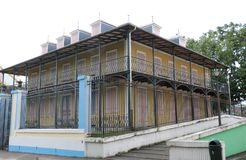 Historic architecture in Pointe-a-Pitre, Guadeloupe Royalty Free Stock Photo
