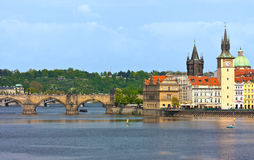 Historic architecture of Prague Stock Photos