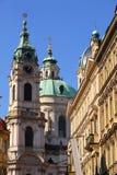 Historic Architecture in Prague Stock Image