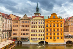 Historic architecture of Prague in Czech Republic Royalty Free Stock Photos
