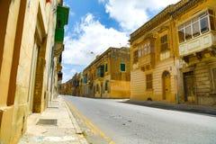 Historic Architecture in Rabat. Historic Architecture in Ir-Rabat / Rabat in Malta, southern Europe stock photo