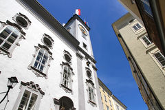 Historic Architecture in Salzburg Royalty Free Stock Image