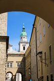 Historic Architecture in Salzburg Stock Image